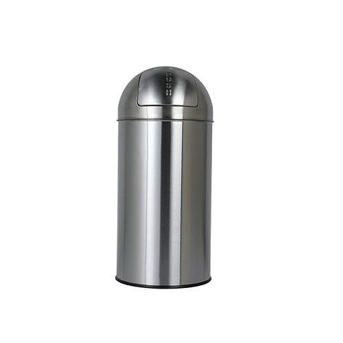DUST BIN SATIN FINISHED 30L【ゴミ箱】