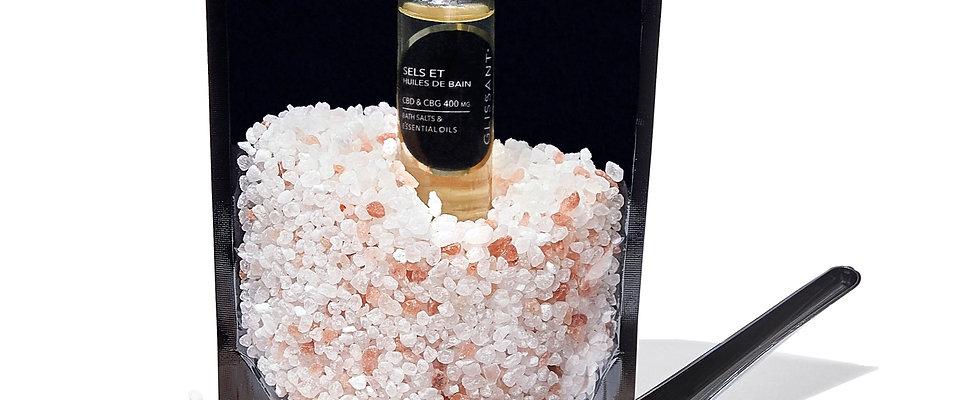 SELS ET HUILES DE BAIN CBD & CBG BATH SALTS & ESSENTIAL OILS REFILL