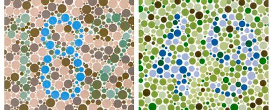 Test de visión de los colores