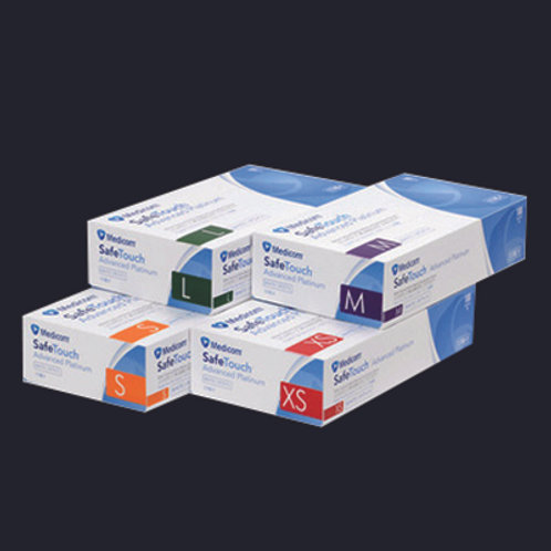 Medicom SafeTouch ~ 高彈力丁晴 (無粉) 手套