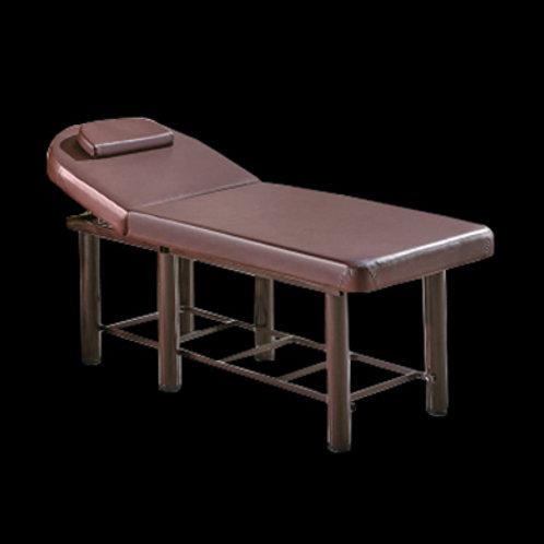 圓頭六粗圓腳美容床 (有置物板)
