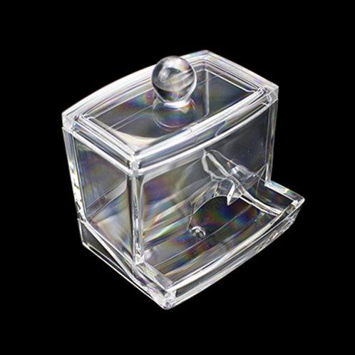 透明棉花棒儲存盒