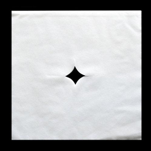 正方形美容床頭洞墊