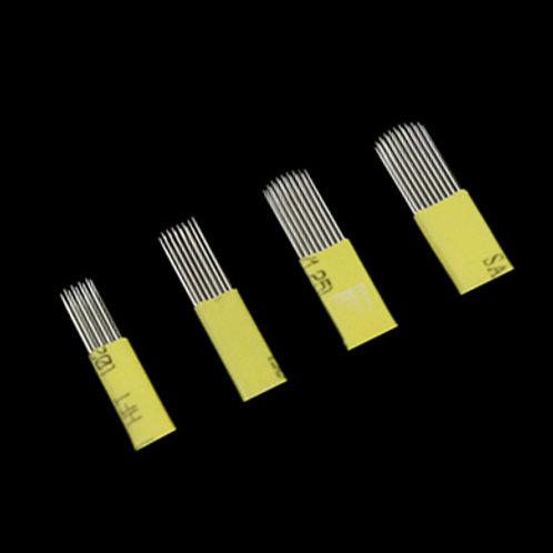 黃皮系列 ~ 手工紋繡針片
