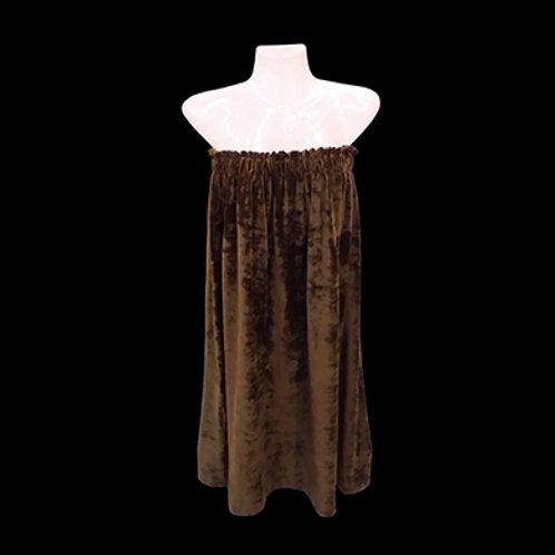 南韓絨浴裙 (橡筋款)
