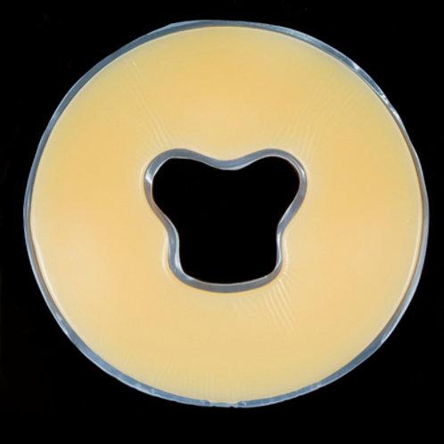 圓形硅膠墊面枕