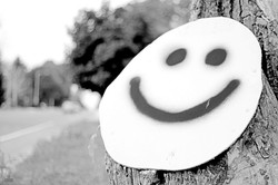 Put a smile on my face.