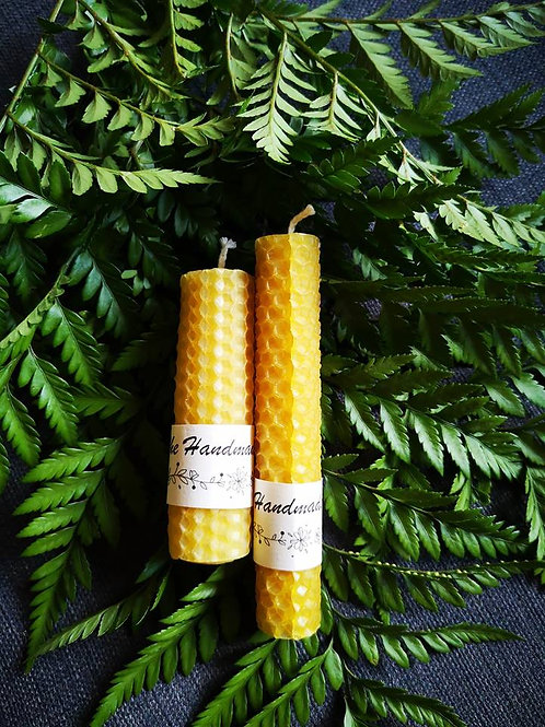Handrolled Beeswax Candles