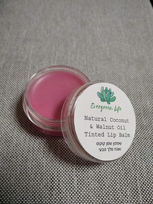 Natural Coconut & Walnut Oil Tinted Lip Balm