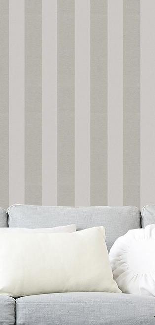 Wide stripes non-woven wallpaper