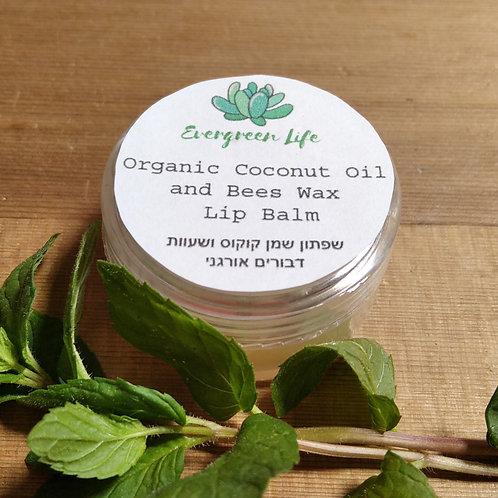 Organic Coconut Oil & Bees Wax Lip Balm