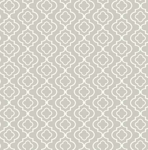 contemporary white trellis wallpaper on gray background description first quality new prepasted washable wallpaper priced by the single roll - Trellis Wall Paper