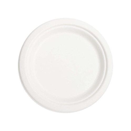 Biodegradable Disposable Plates, 20 pcs