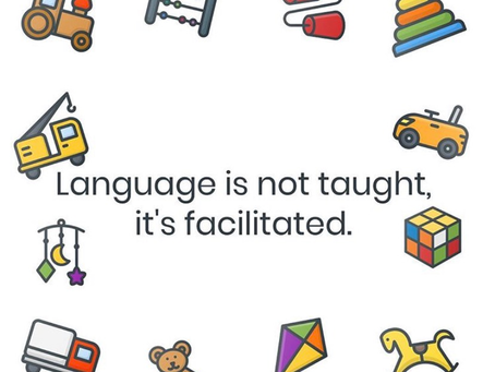 Language is Not Taught