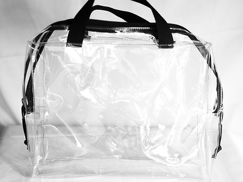 Clear Gallon Bag with Zipper