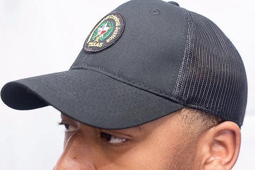 Cotton Twill/Mesh Adjustable Hat