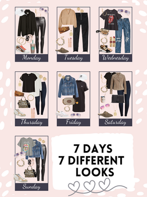 7 days, 7 outfit ideas