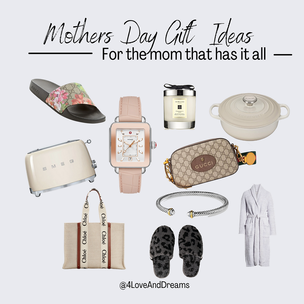 what to get mom for mothers day. gift ideas for all the women in your life. Gucci. splurge gifts.