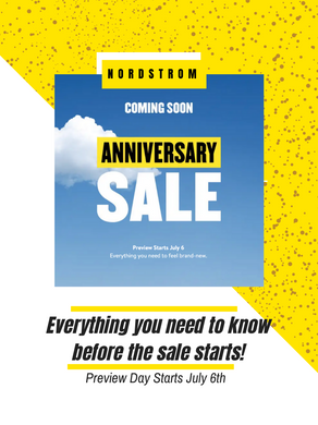 the Nordstrom Anniversary Sale Guide 2021
