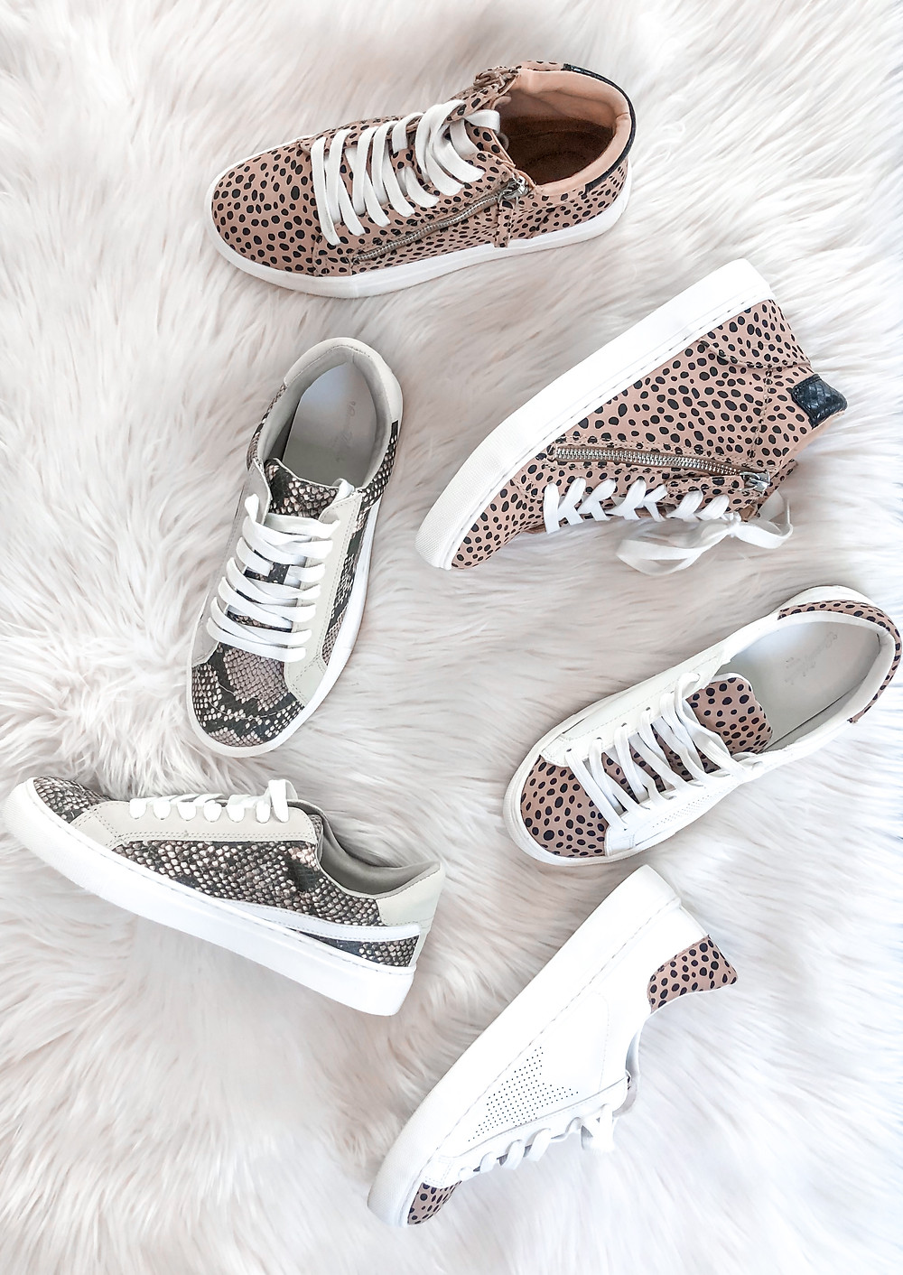 fashion sneakers, target finds, animal print