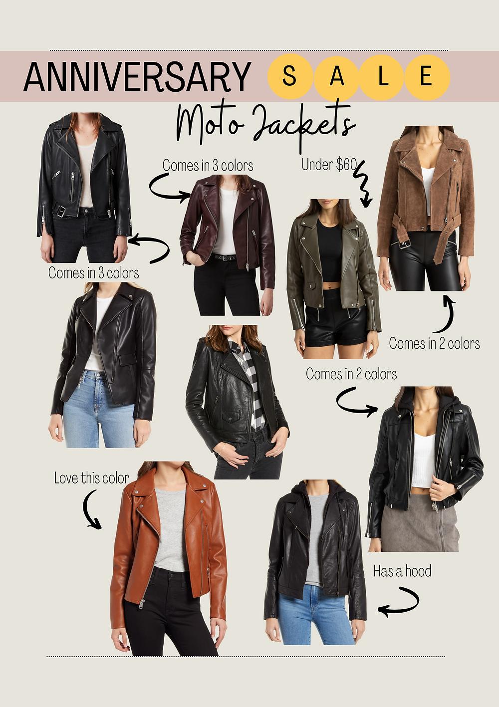 moto jacket. Sale. Nordstrom Sale. fall jackets.