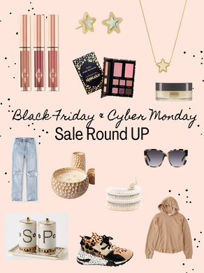 Black Friday & Cyber Monday Round UP!!
