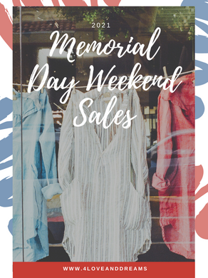 Memorial Day Weekend Sales 2021
