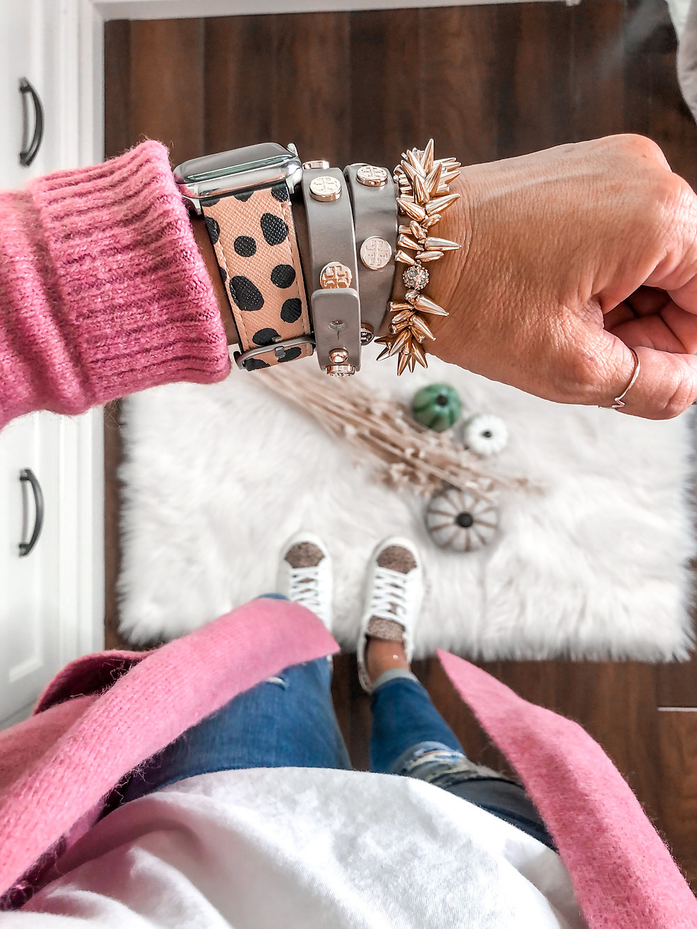 Apple Watch band. Stella and Dot. leopard sneakers. Target Style. Target does it again.
