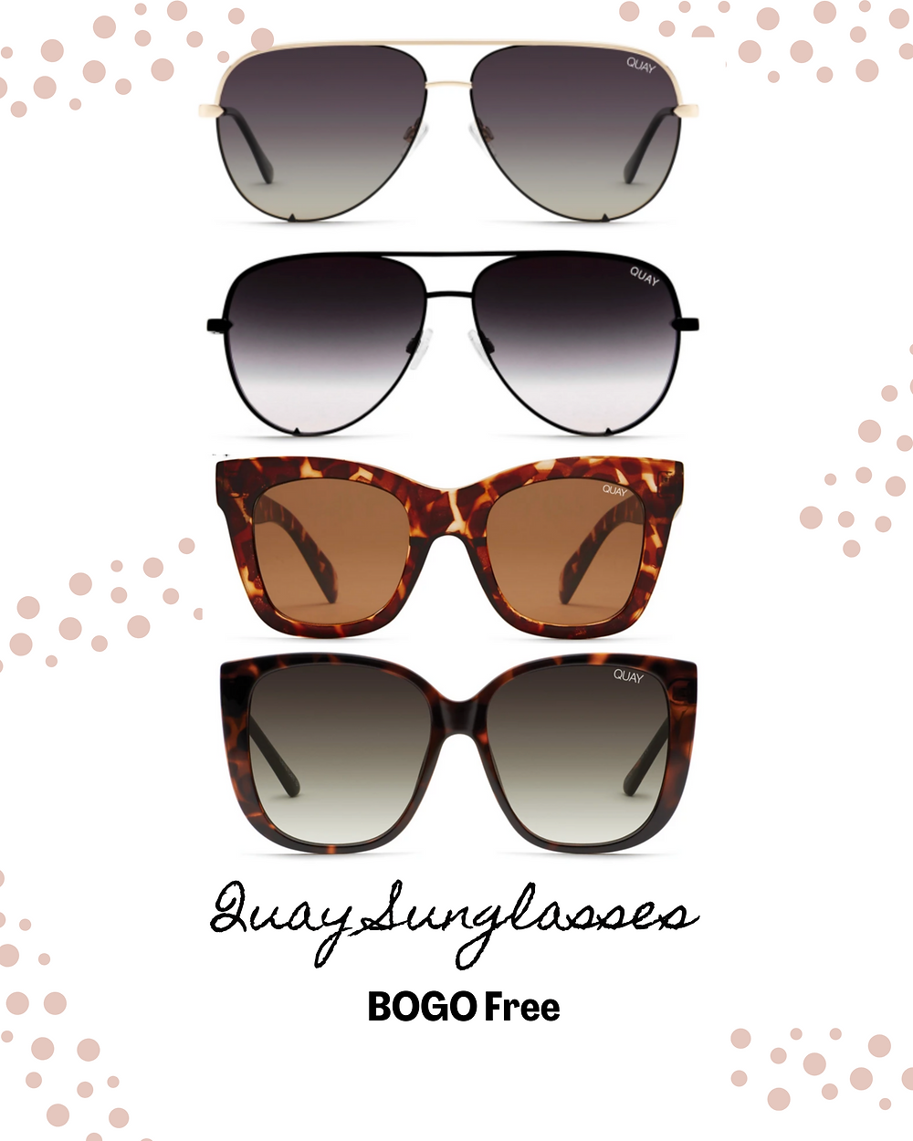 BOGO FREE. Black Friday sale. sale. sunglass sale. Quay sunglasses