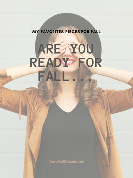 Are You Ready For Fall