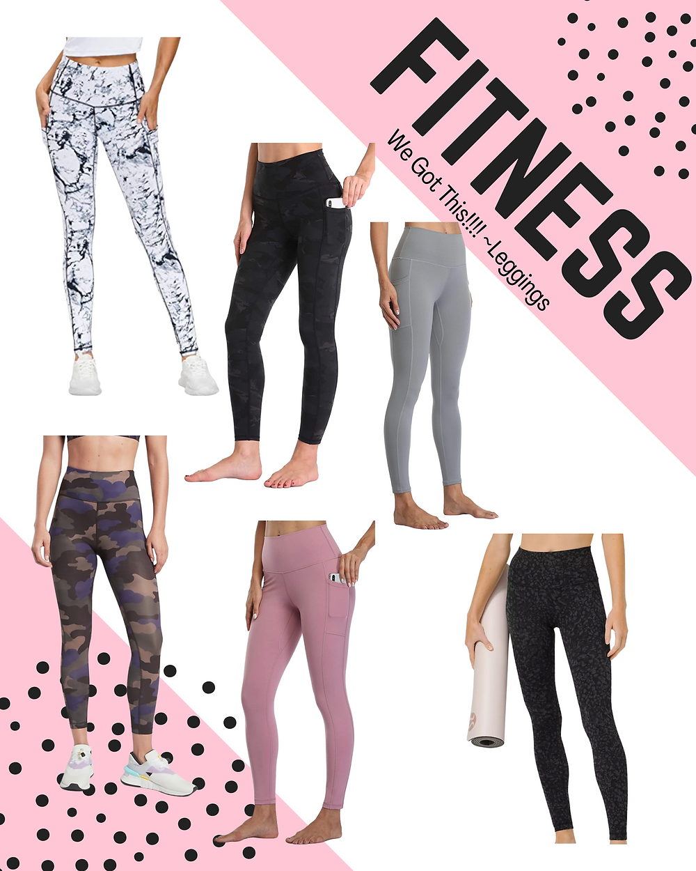 fitness. leggings. Lululemon dupe. new year new you. fit girls.