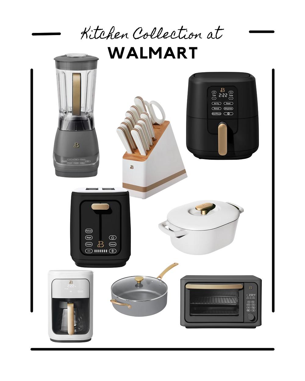 Walmart finds. Walmart home decor. affordable home decor. affordable kitchen appliances. high end look.