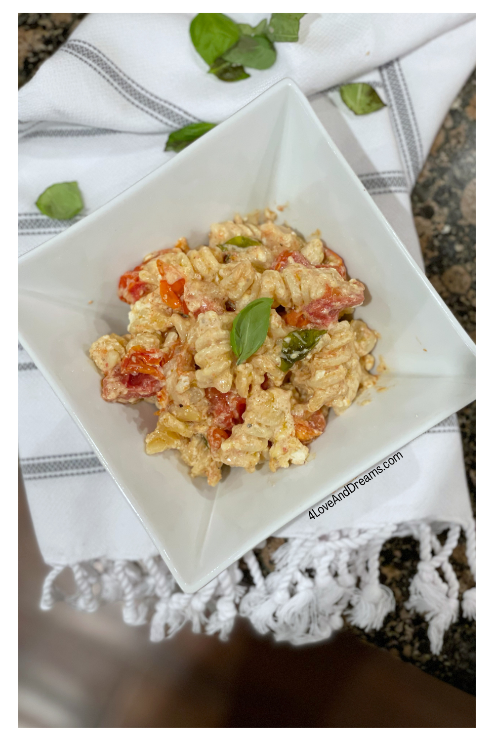 baked feta pasta from tik Tok. Italian pasta from tik Tok. easy weeknight meals. company is coming easy meal. baked feta and tomato pasta. baked feta pasta TikTok. baked feta with tomatoes