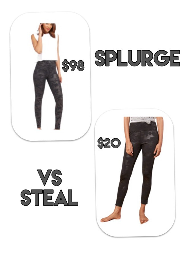 Spanx leggings. designer dupe. splurge vs steal. mom uniform. fall outfits