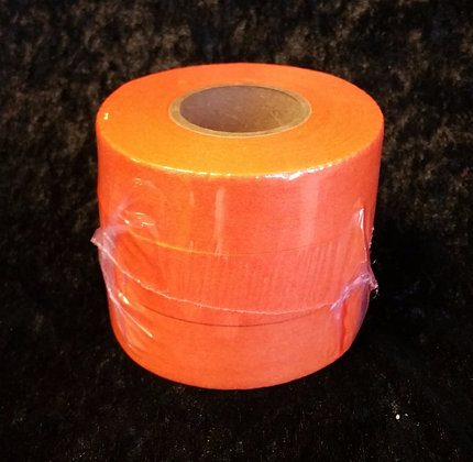 Løypebånd, oransje 3stk ruller a 50m