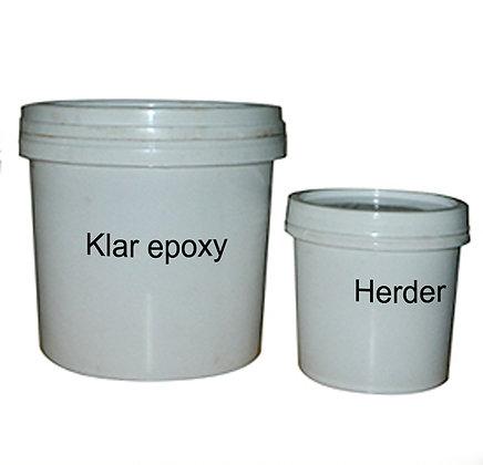 Epoxy topplakk, 1 kg