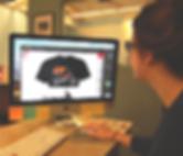 Sunny @ iNK Screen Printing using Adobe Illustrator CC