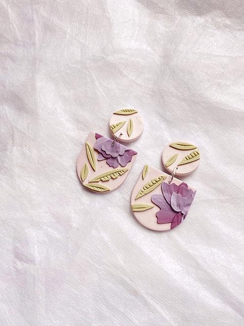 Lilac Peonies - Mini Frida