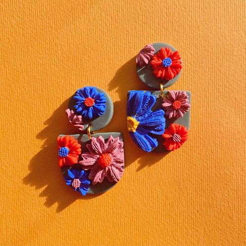 Vibrant Blooms  - Mini Frida
