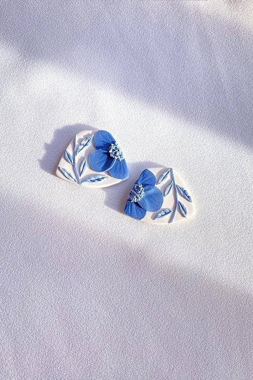 Preorder: Porcelain Poppies v2 - Midi Leia
