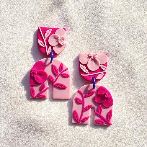 Pink on pink Poppies - Umbra