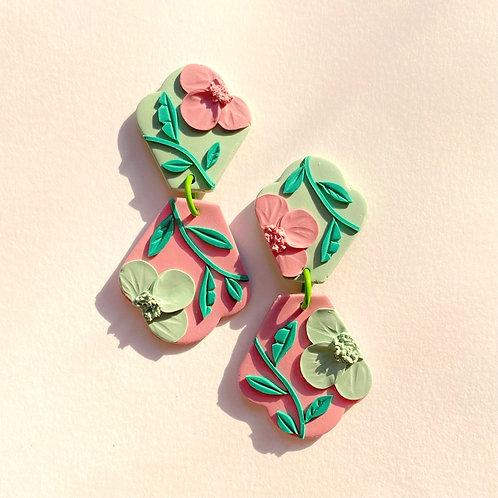 Arpel - Sage/ Pink