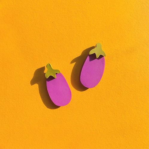 Eggplant studs