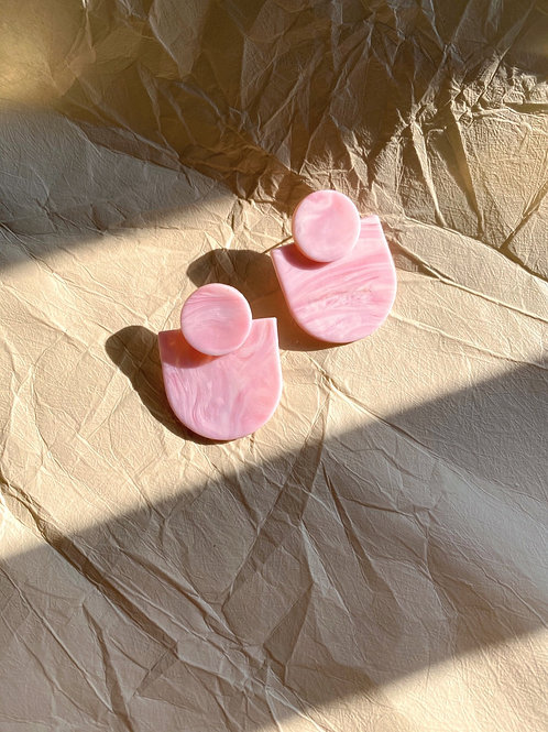 Marcel - Fuchsia Pink quartz