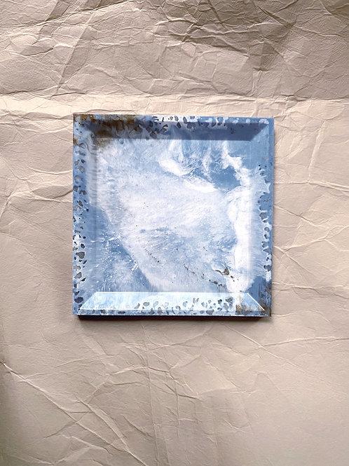 Trinket Tray - Sky marble