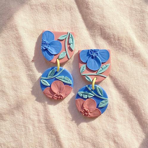 Mini Maya - Dusty Pink/ Blue