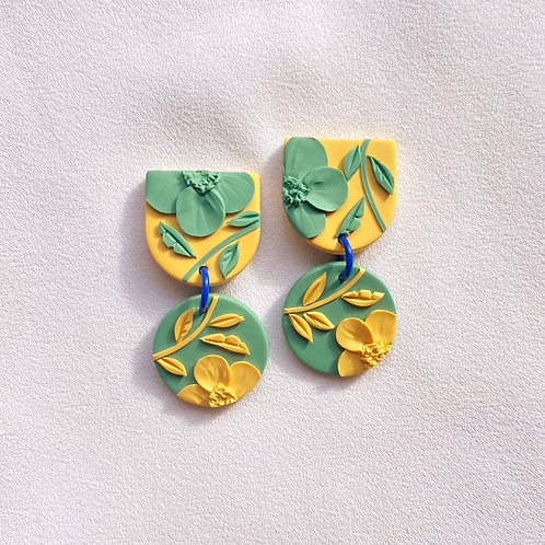 Sunshine/Grass Poppies - Mini Maya