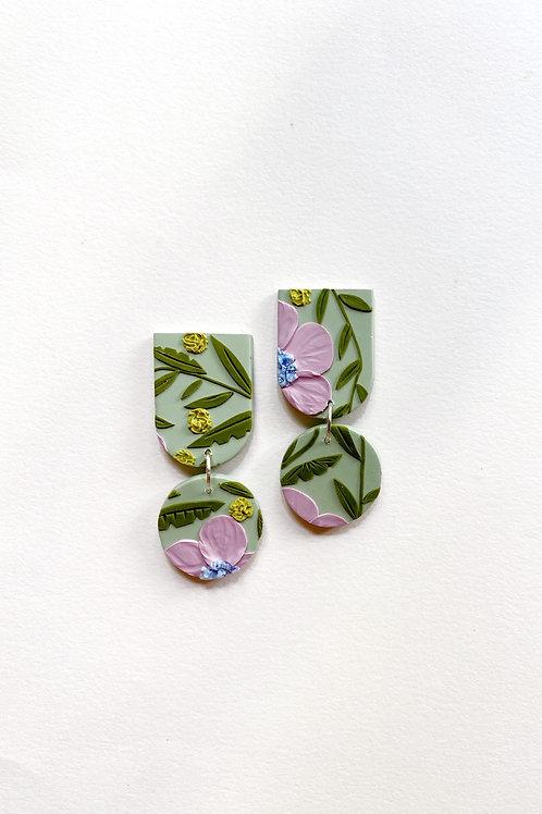 Lavender Poppies - Maya
