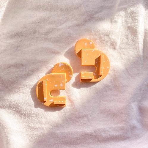 Bauhaus series - Berlin: Orange Speckle