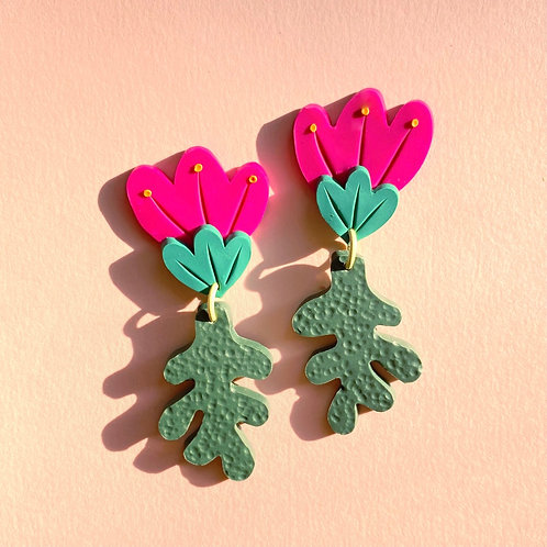 Preorder: Poppy - Fuchsia/Green